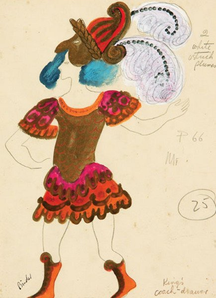 9A: Binder (Pearl) Two large costume designs