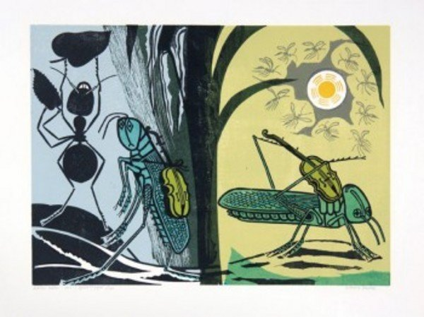11C: Bawden (Edward) the ant & the grasshopper