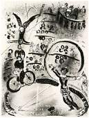 177C Chagall Marc bicycle riders m171