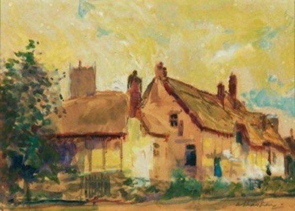 3D: Alfred Théodore Joseph Bastien (1873-1955) a villa