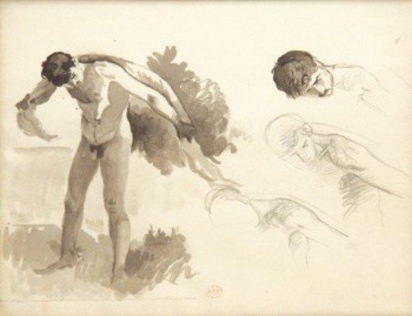 6D: Henri Edmond Cross (1856-1910) études de garçon
