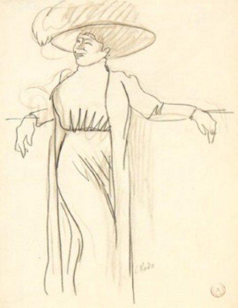 11D: Ludovic-Rodo Pissarro (1878-1952) four figure stud