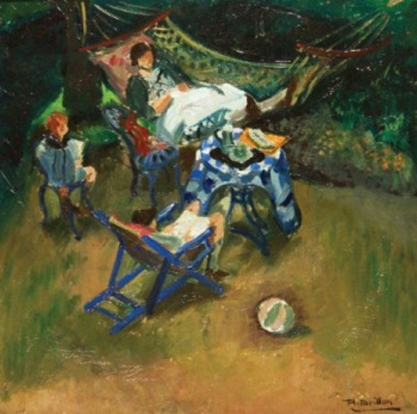 16D: Roger-Maurice Grillon (1881-1938) the artist's fam