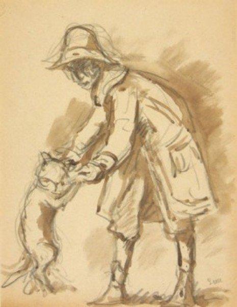 20D: Maximilien Luce (1858-1941) l'homme et son chien