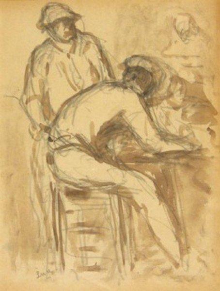 22D: Maximilien Luce (1858-1941) dans la forge