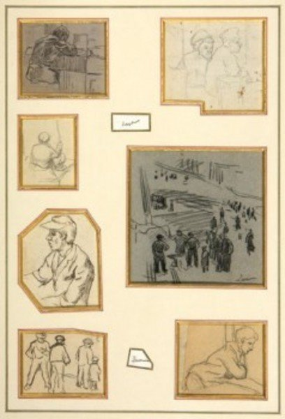 23D: Maximilien Luce (1858-1941) a collection of seven