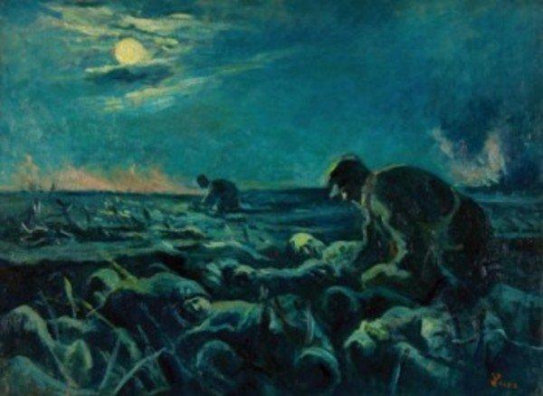 24D: Maximilien Luce (1858-1941) après la bataille