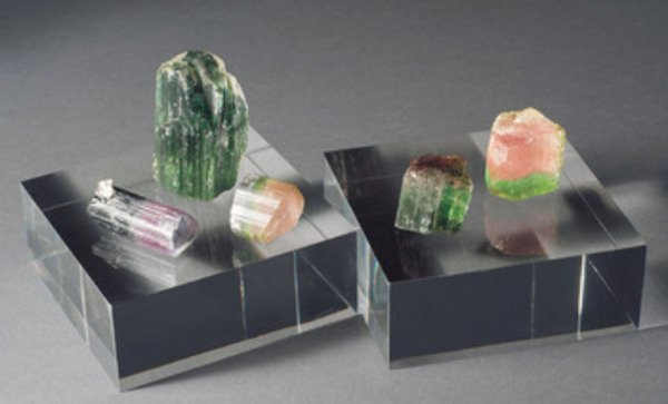 7A: A GROUP OF THREE TOURMALINES, Afghanistan