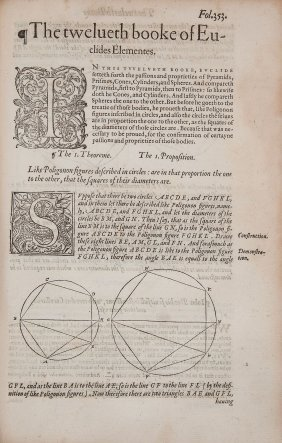 Euclid. - The Elements Of Geometrie,