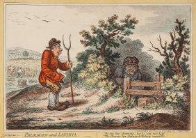 Gillray (james) - Palemon And Lavinia,