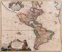 Homann (Johann Baptiste) - Totius Americae