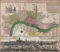 Seutter (Matthaeus) - Londinum celeberrima Metropolis
