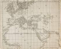 Bruckner (Isaak) - 2 sheets from the Nouvel Atlas de la