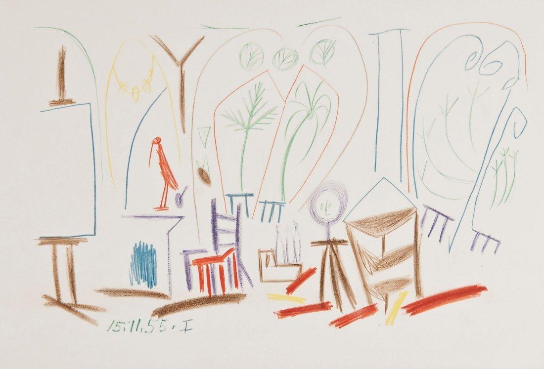 Pablo Picasso (1881-1973)(after) - Carnet de Californie