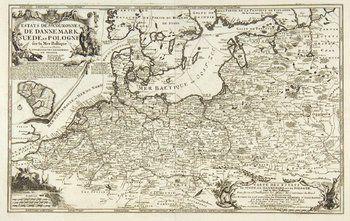 115B: Fer (Nicolas de) Denmark, Sweden and Poland