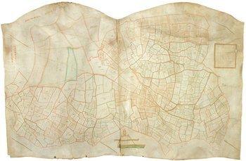 33C: Suffolk Estate Map.-