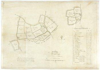 37C: Suffolk Estate Map.-