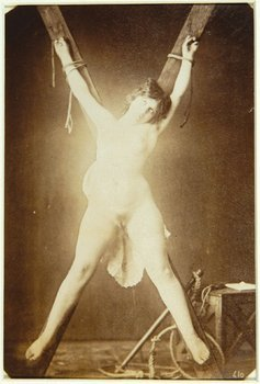 14E: Anonymous crucified nude