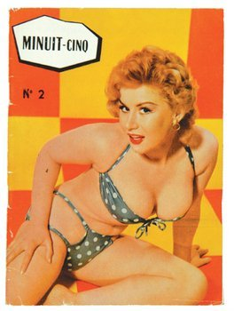382E: various artists french pin-up and german naturist