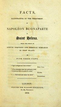127A: Hook.Facts.. Napoléon..St Helena,1819