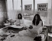 Tony Grylla b1941  John Lennon and Yoko Ono Bed