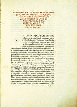 4C: Herodian. Historiae de Imperio Post Marcum
