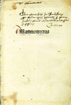 5C: Marchesinus Mammotrectus super Bibliam