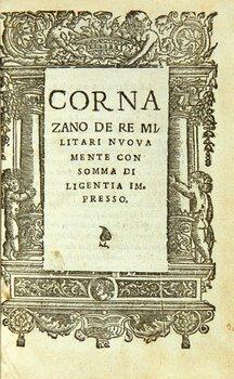21C: Cornazzano (Antonio) De re militari
