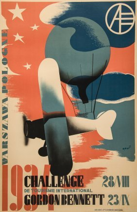 Gronowski, Tadeusz (1894-?) - Challenge Gordon Bennett,