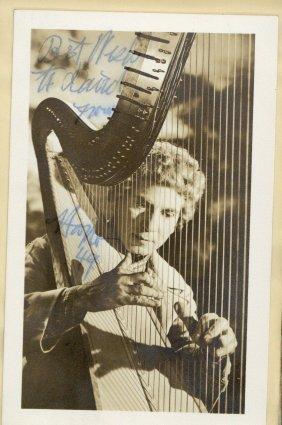 Autograph Album - Incl. Marx Borthers - Autograph Album