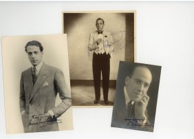 Autograph Collection - Incl.noel Coward - Two