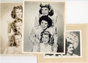 Female Vocal Groups C. 1930s - Three Black And White