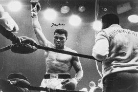 Ali, Muhammad - Black And White Photograph Of Muhammad