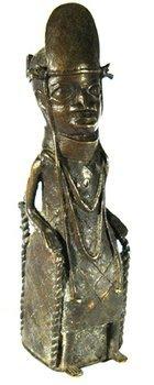 103D: Benin bronze