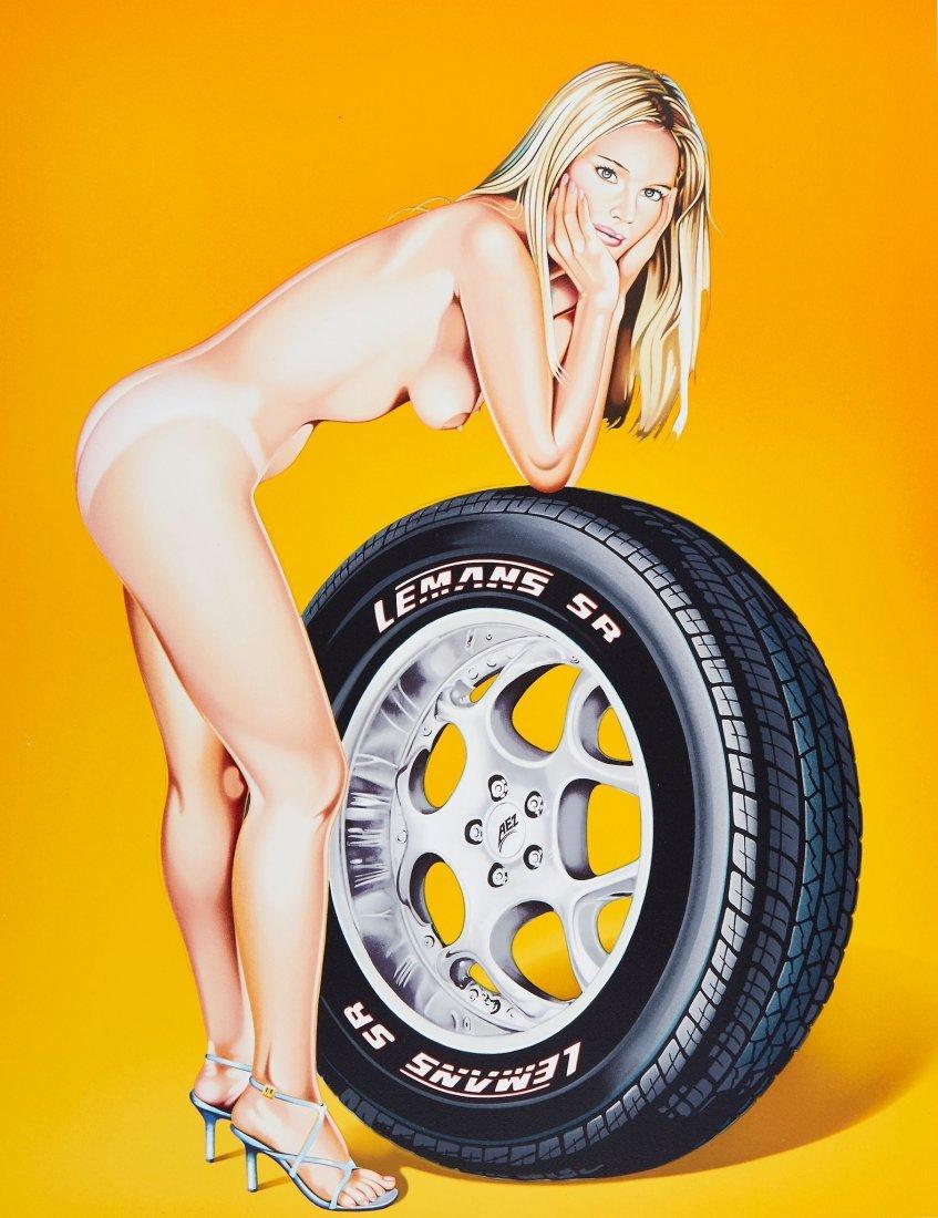 Mel Ramos (b.1935) - Tyra Tire