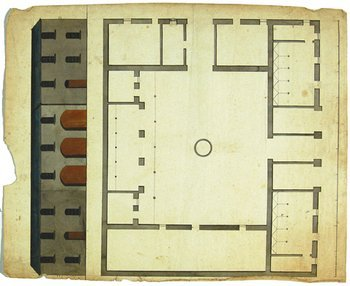 4A: Anonymous architectural drawings and estate plans