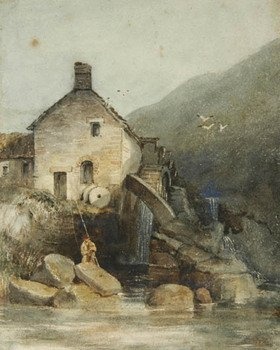 19A: Clennel, (L. 1781-1840 attr) The Old Mill