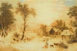 198A: Wallis (Joshua, 1789-1862) [The Four Seasons]