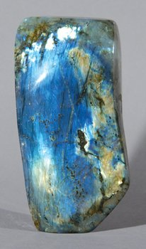 20B: A POLISHED LABRODITE FREEFORM, Madagascar