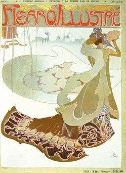 6C: de Feure(Georges).-Figaro Illustré,v.11,1900