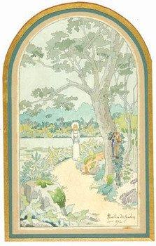 10C: Gachons (André des) a pair of watercolours