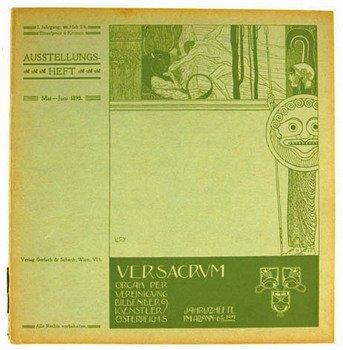 16C: Klimt (Gustav).- Ver Sacrum:vol.1 no.5/6,1898