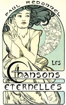 22C: Mucha.-Redonnel.Chansons Eternelles,1898
