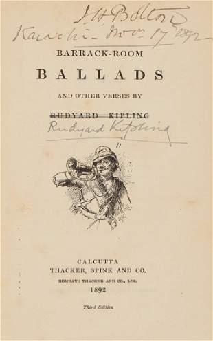 Kipling (Rudyard) - Barrack-Room Ballads...,