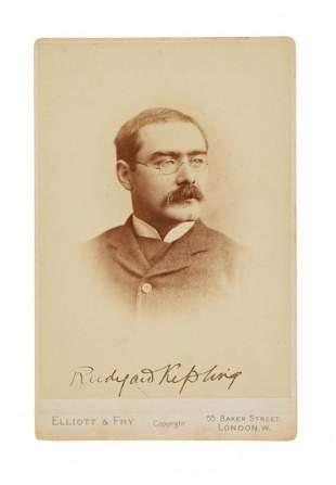 Kipling (Rudyard).- Hart (Francis Henry, - photographer