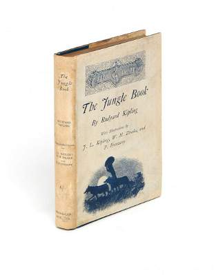 Kipling (Rudyard) - The Jungle Book,