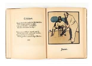 Kipling (Rudyard) - An Almanac of twelve Sports,