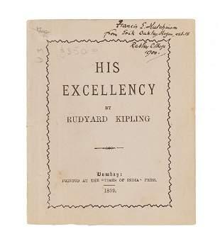 Kipling (Rudyard) - His Excellency.