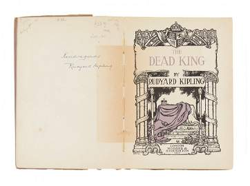 Kipling (Rudyard) - The Dead King,