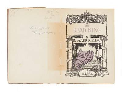 Kipling (Rudyard) - The Dead King,